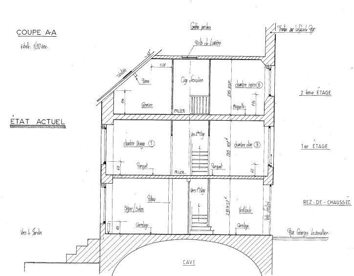 Maison à vendre 4 116m2 à Mamers plan-4