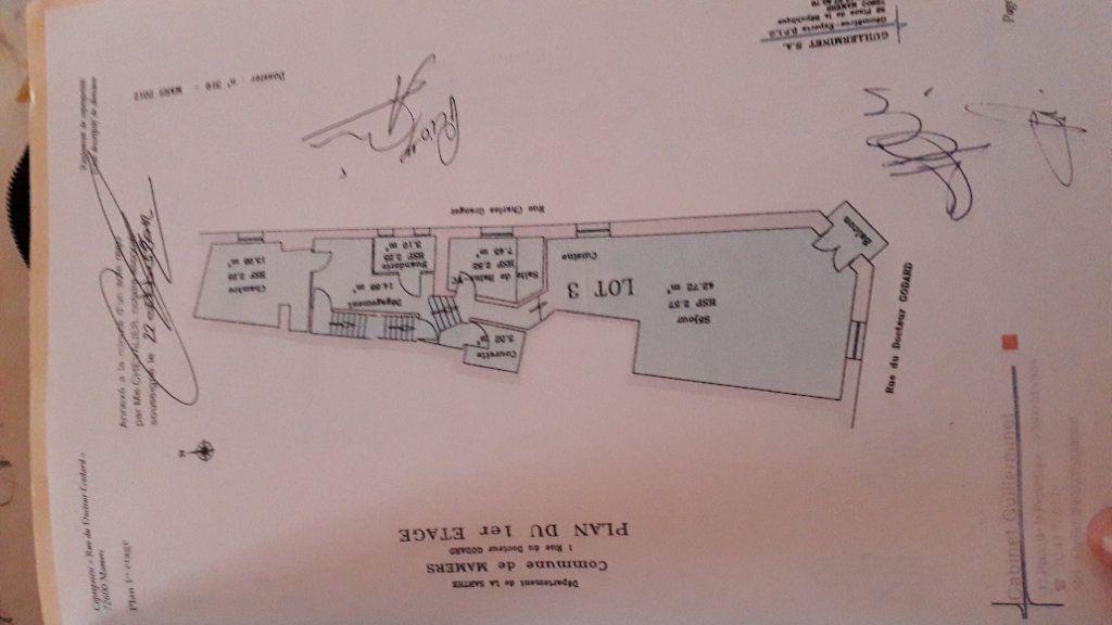 Appartement à vendre 3 77m2 à Mamers plan-3