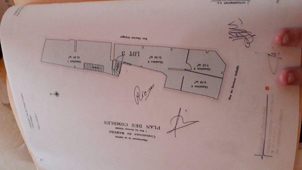 Appartement à vendre 3 77m2 à Mamers plan-4