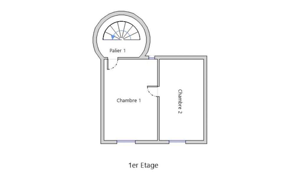 Maison à vendre 3 67m2 à Sillé-le-Guillaume plan-2