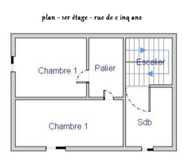 Maison à vendre 3 58m2 à Mamers plan-1