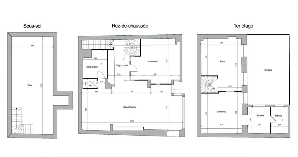 Maison à vendre 5 128m2 à Paris 13 vignette-14