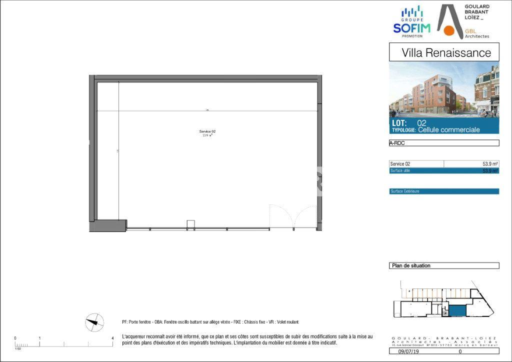 Bureaux à vendre 0 53.9m2 à Ronchin vignette-5