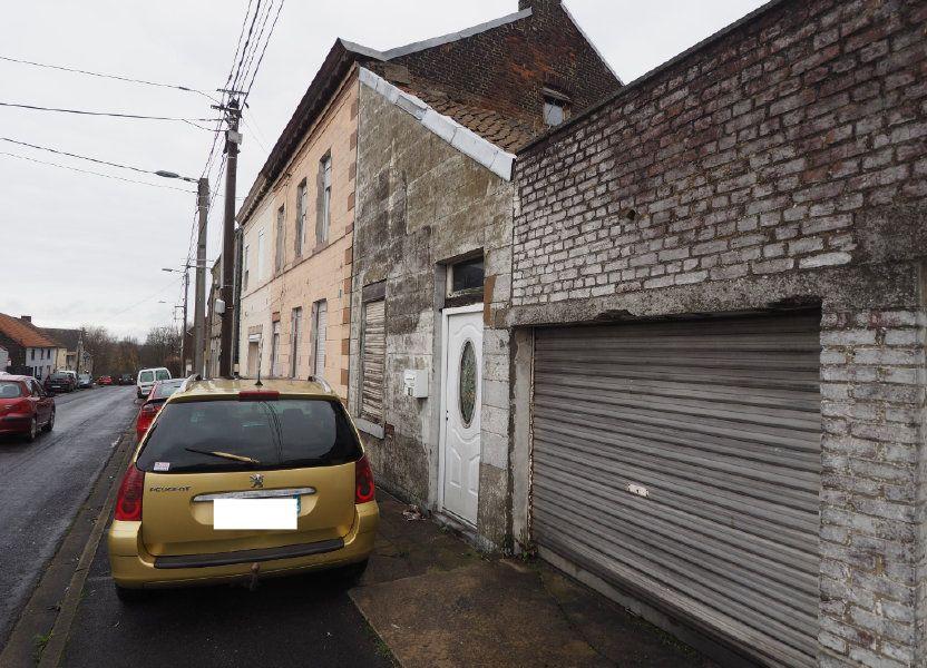 Maison à vendre 35m2 à Maubeuge