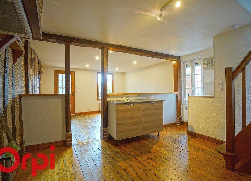 Appartement à louer 37.72m2 à Bernay