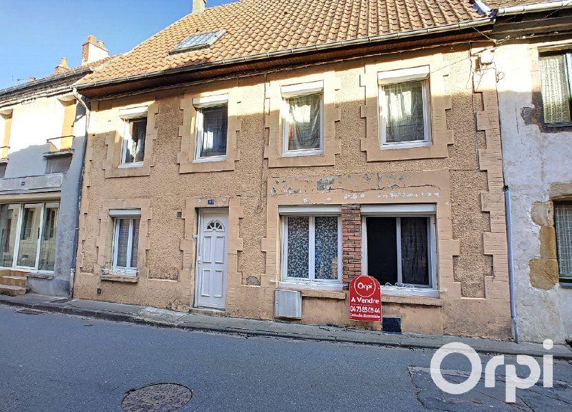 Maison à vendre 105m2 à Montaigut