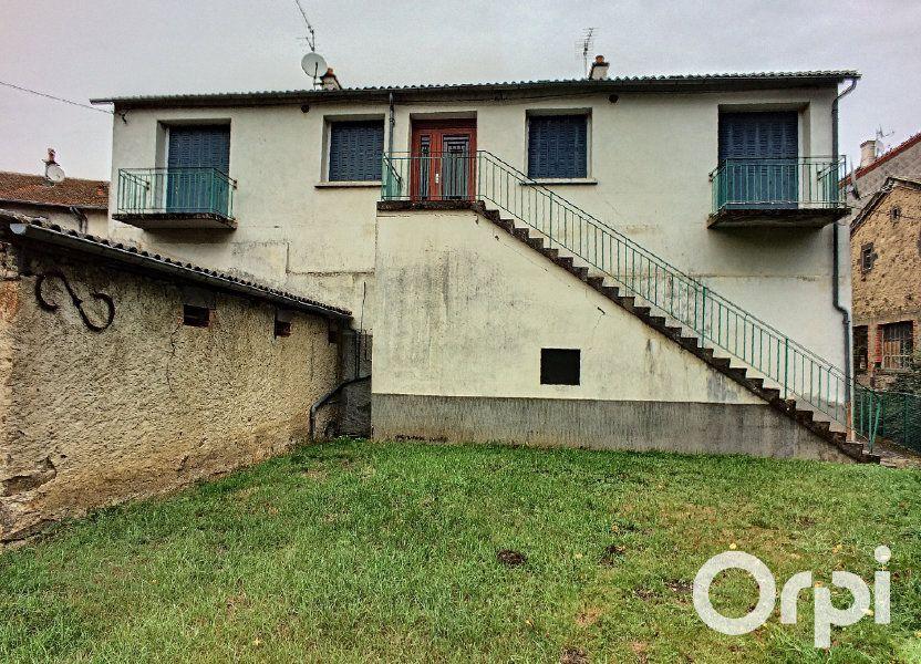 Maison à vendre 135m2 à Pontaumur