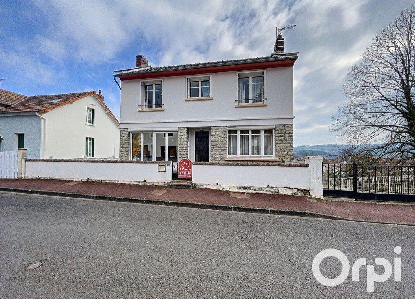 Maison à vendre 176.5m2 à Saint-Éloy-les-Mines