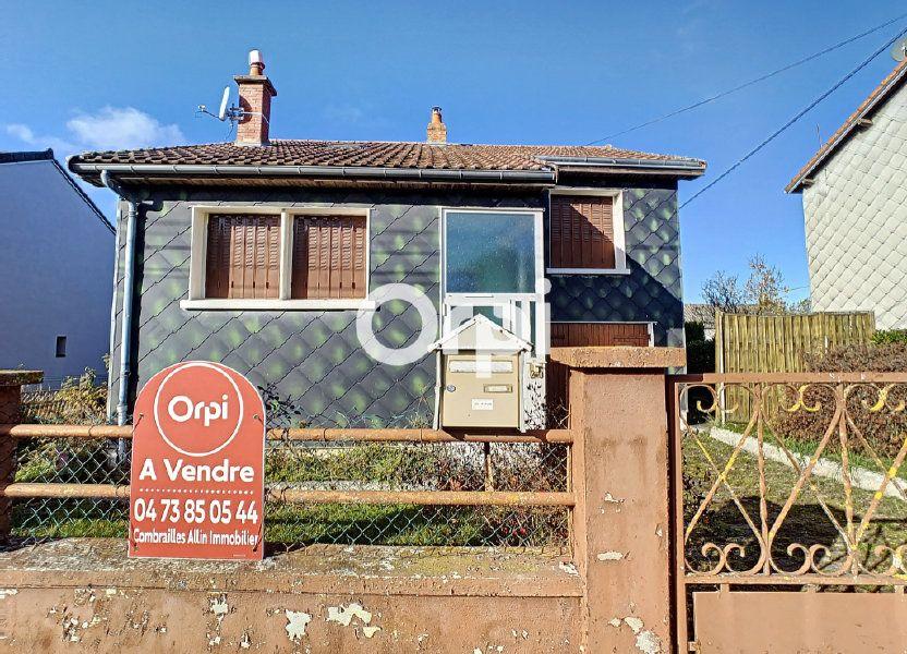 Maison à vendre 78m2 à Saint-Gervais-d'Auvergne