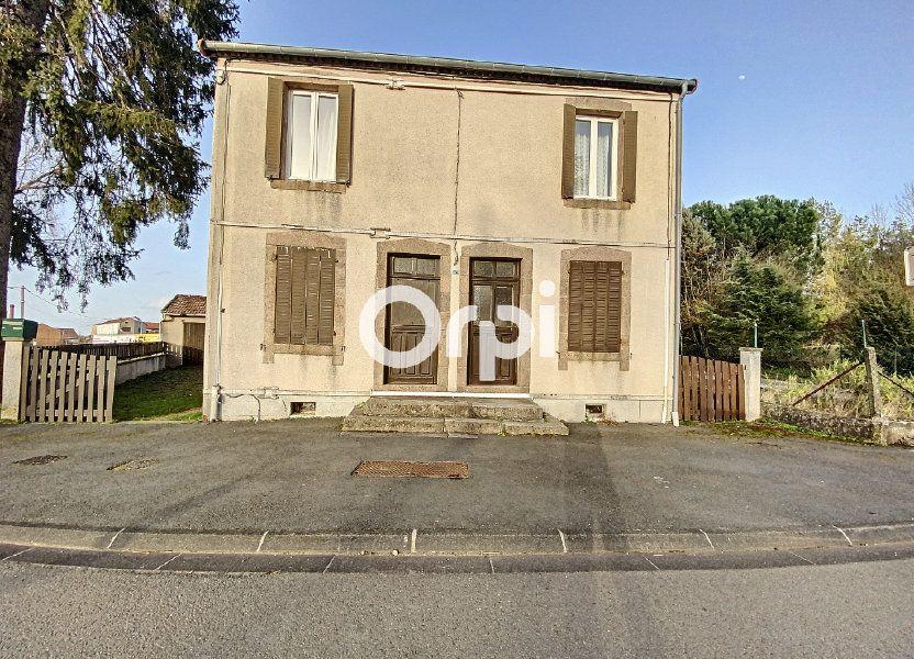 Maison à vendre 55m2 à Saint-Éloy-les-Mines