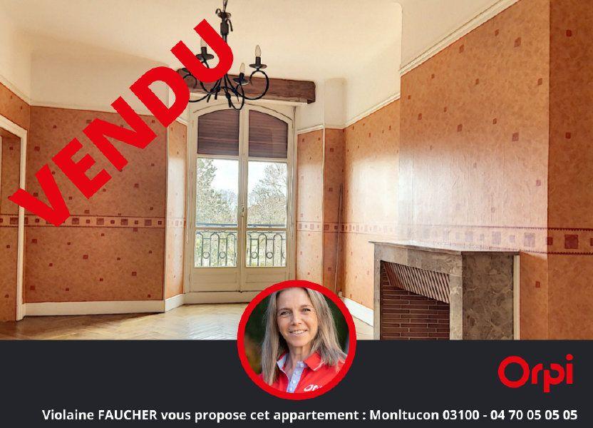 Appartement à vendre 82.67m2 à Néris-les-Bains