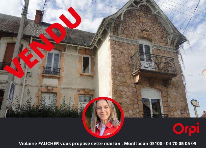 Maison à vendre 95m2 à Montluçon