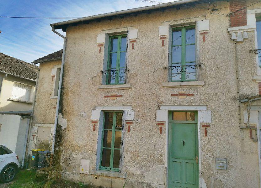 Maison à vendre 66m2 à Saint-Amand-Montrond