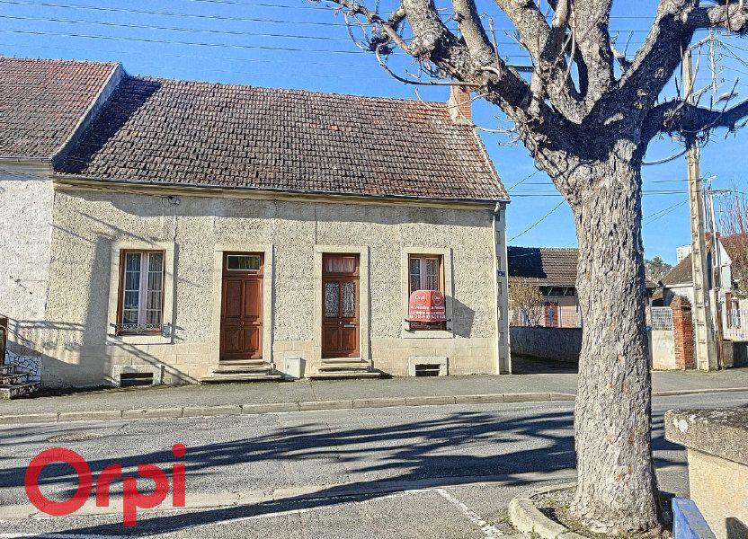 Maison à vendre 83m2 à Montluçon