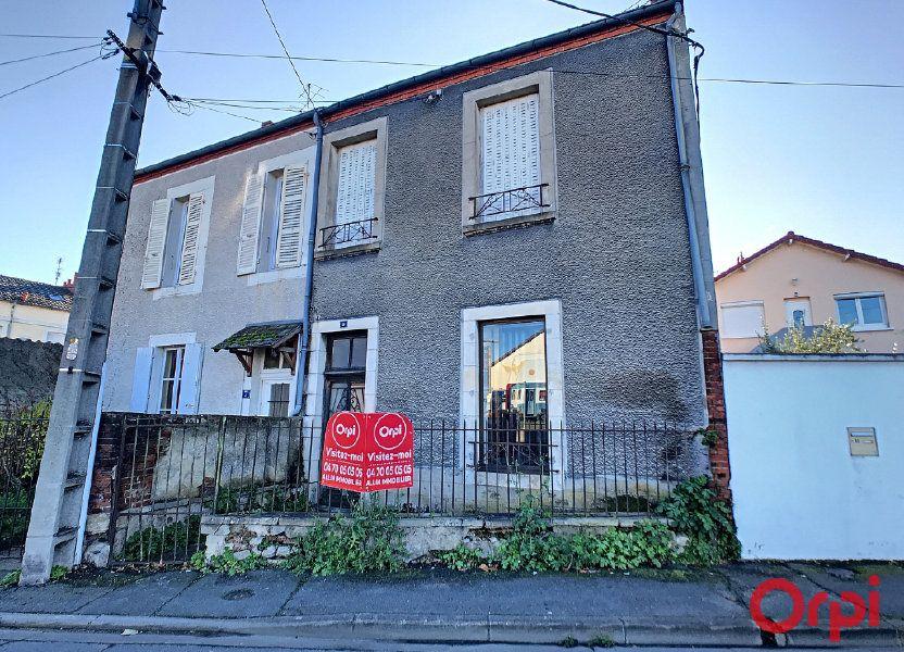 Maison à vendre 70m2 à Montluçon