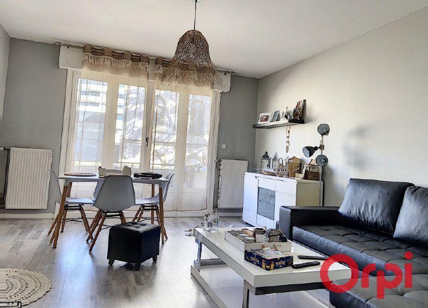 Appartement à vendre 54.78m2 à Montluçon