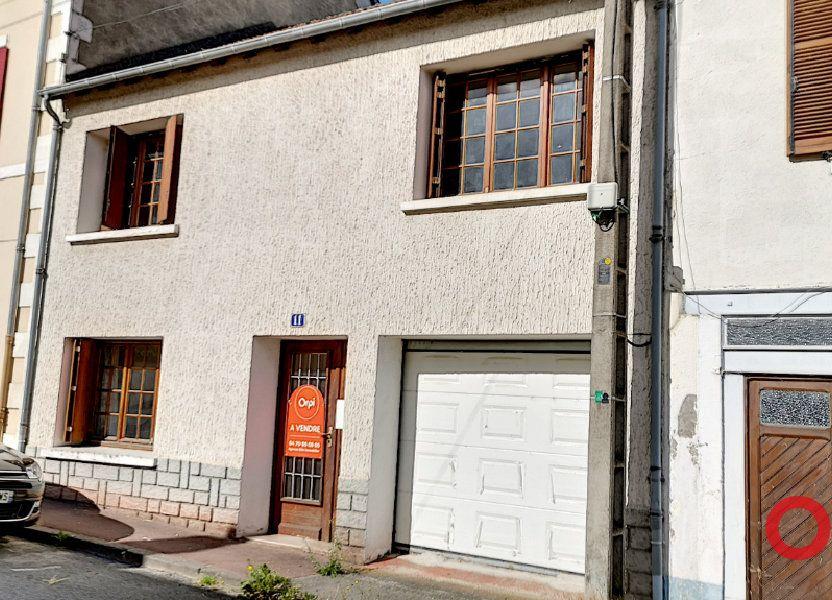 Maison à vendre 99m2 à Commentry