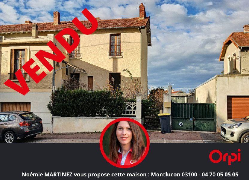Maison à vendre 100m2 à Montluçon