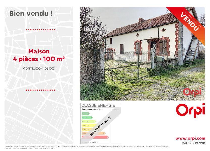 Maison à vendre 100m2 à Verneix