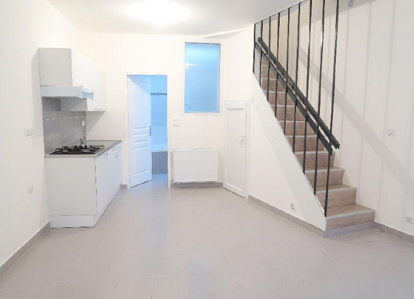 Maison à louer 60m2 à Saint-Quentin