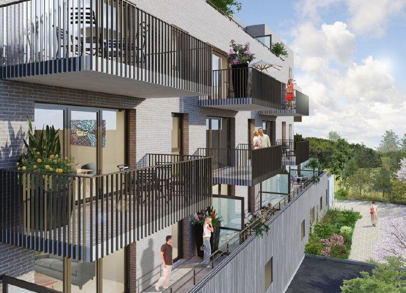 Appartement à louer 49.05m2 à Amiens
