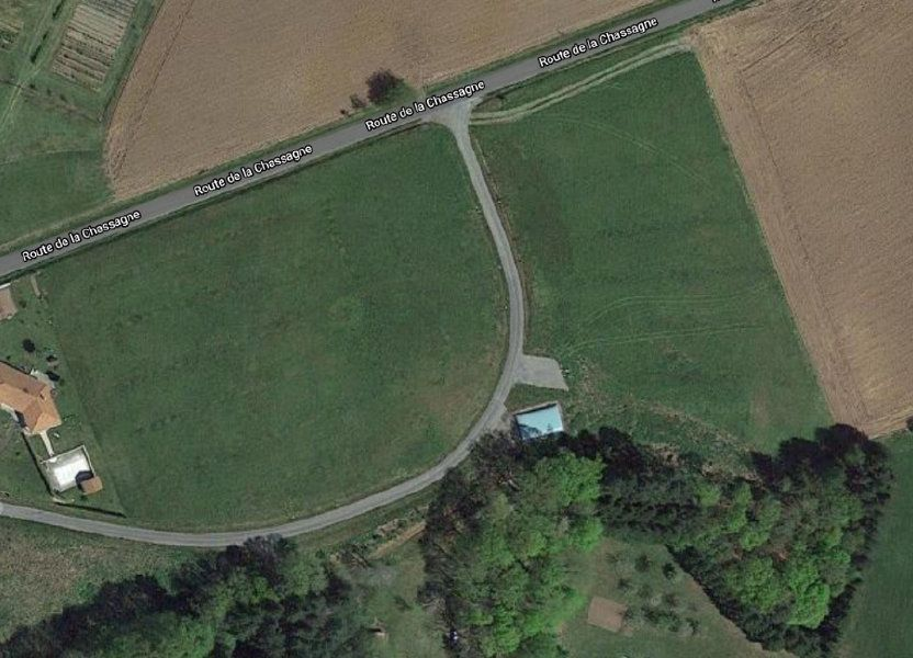 Terrain à vendre 2228m2 à Saint-Priest-Taurion