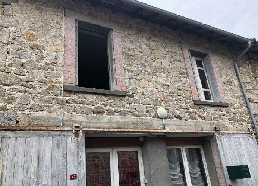 Maison à vendre 94m2 à Saint-Amand-Jartoudeix