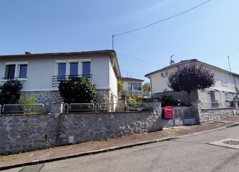 Maison à louer 60m2 à Limoges