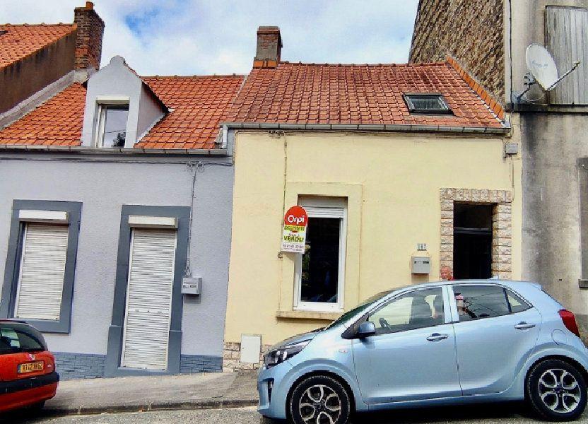 Maison à vendre 50m2 à Boulogne-sur-Mer