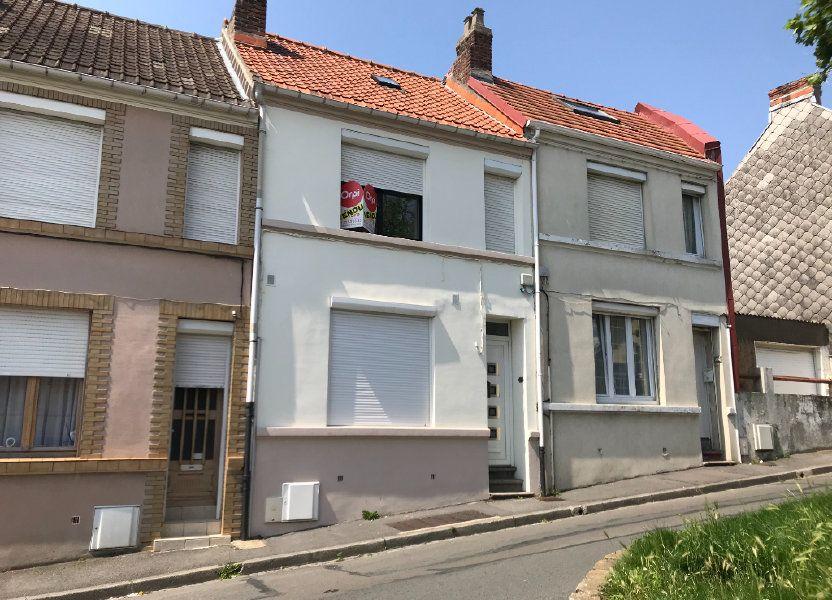 Maison à vendre 72m2 à Boulogne-sur-Mer