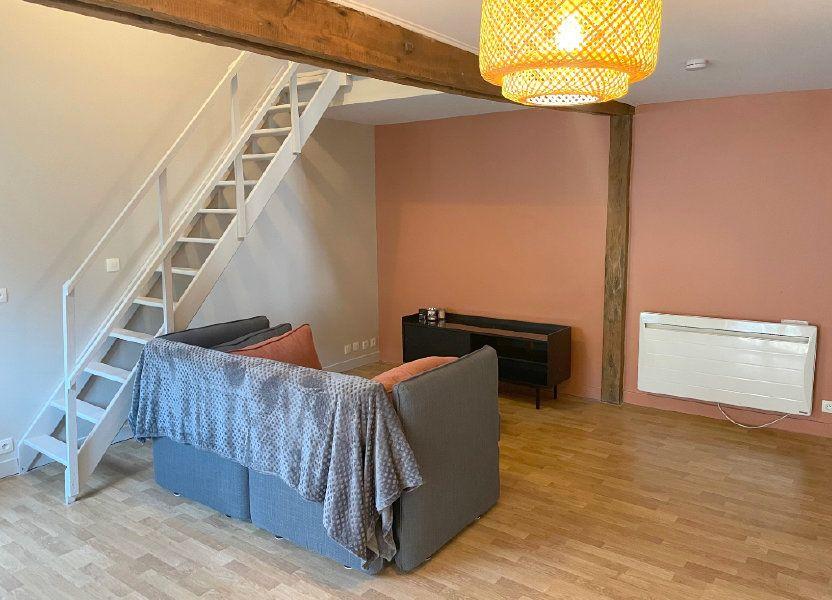 Appartement à louer 35m2 à Boulogne-sur-Mer