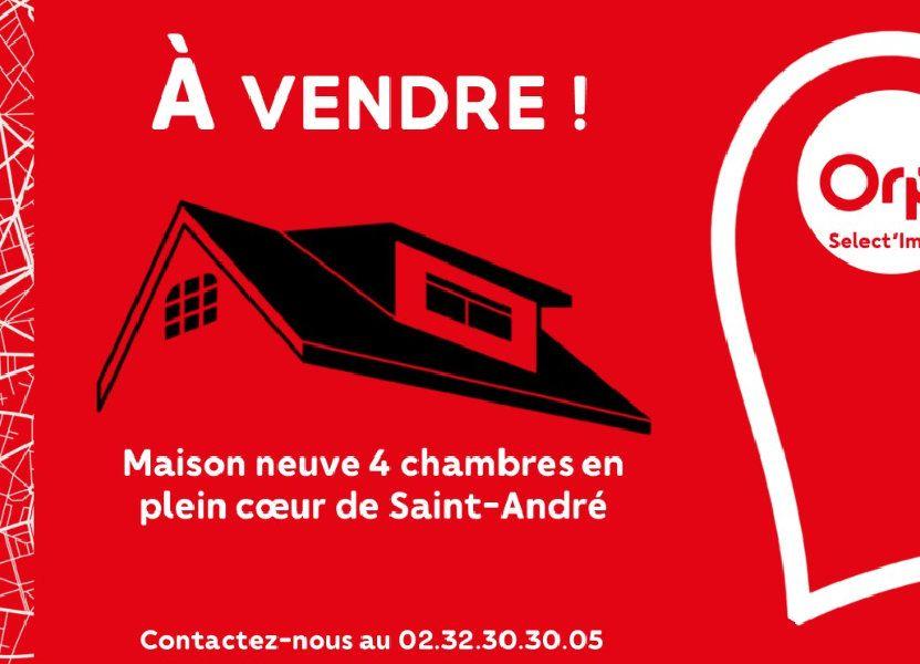 Maison à vendre 100m2 à Saint-André-de-l'Eure