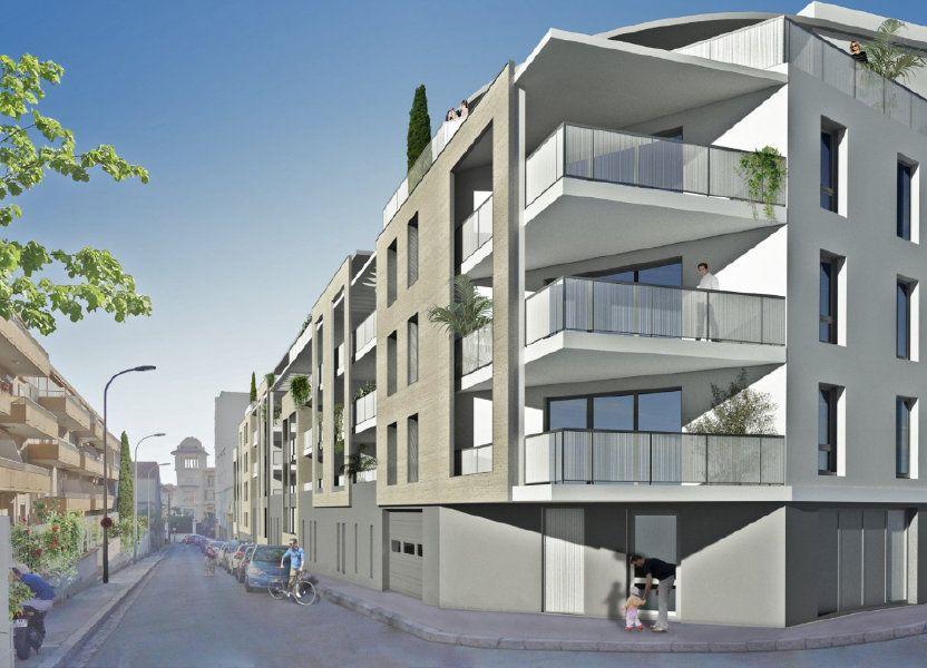 Appartement à vendre 61.69m2 à Béziers
