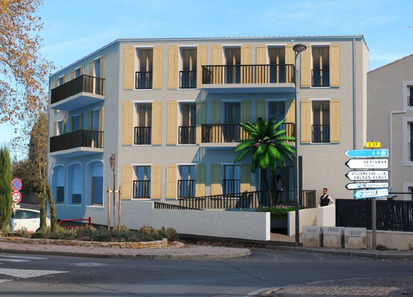 Appartement à vendre 56m2 à Sérignan