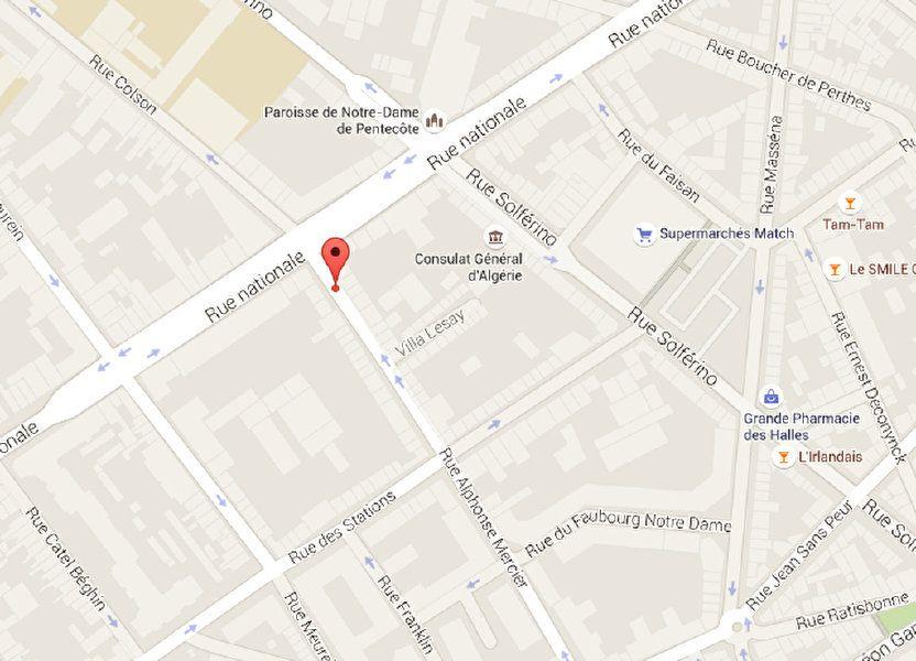 Stationnement à louer 15m2 à Lille