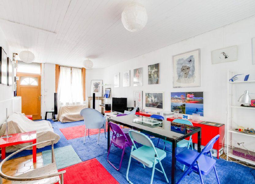 Maison à vendre 92.7m2 à Lille