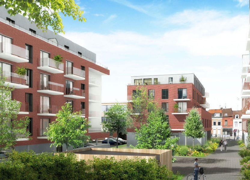 Appartement à vendre 67.7m2 à Roubaix