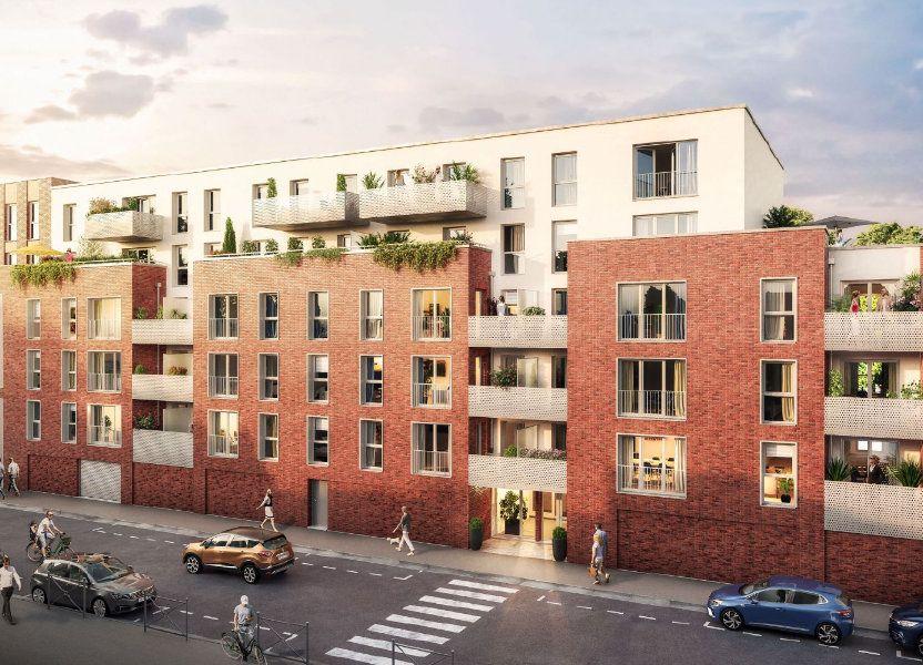 Appartement à vendre 58.6m2 à Roubaix