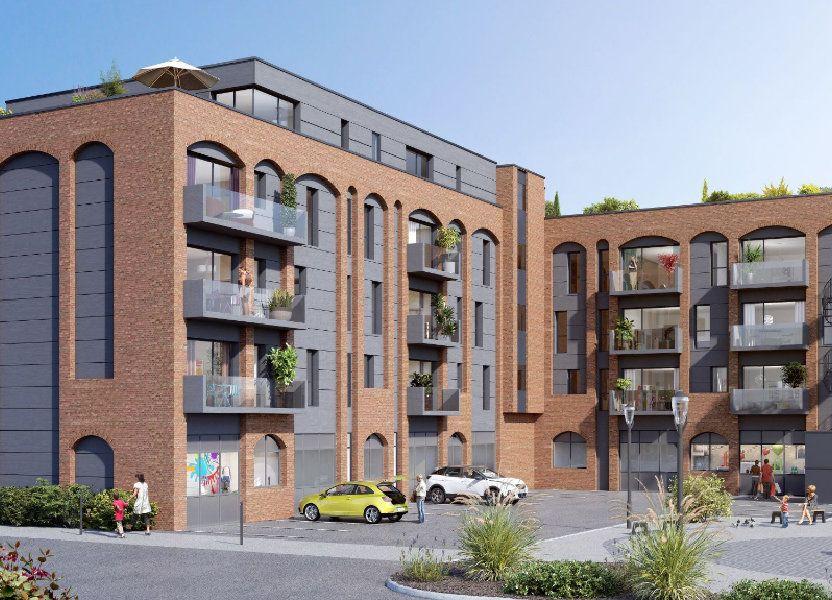 Appartement à vendre 74.5m2 à Villeneuve-d'Ascq