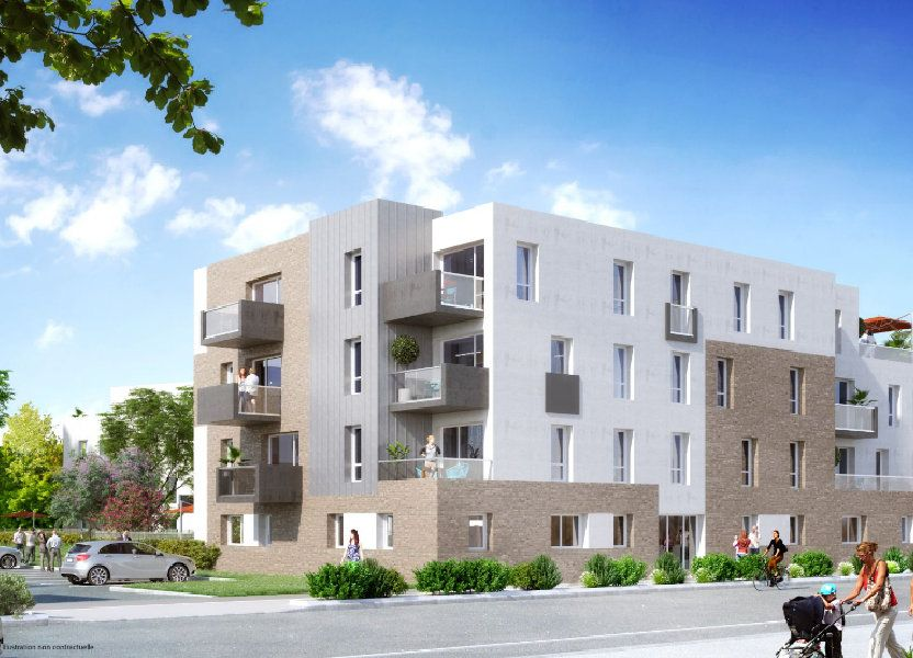 Appartement à vendre 62.15m2 à Wervicq-Sud