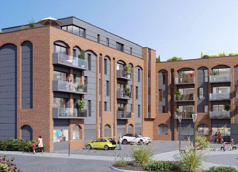 Appartement à vendre 38.4m2 à Villeneuve-d'Ascq