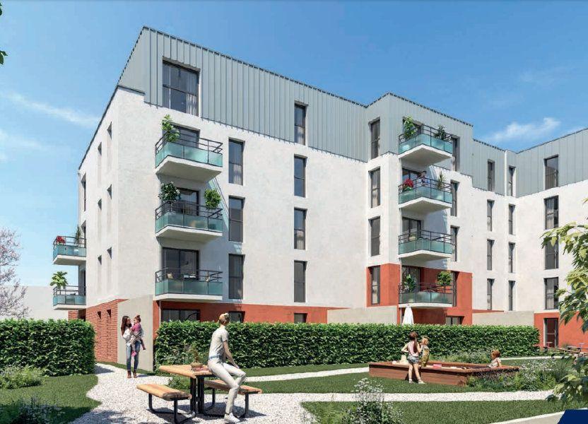 Appartement à vendre 86.1m2 à Lille