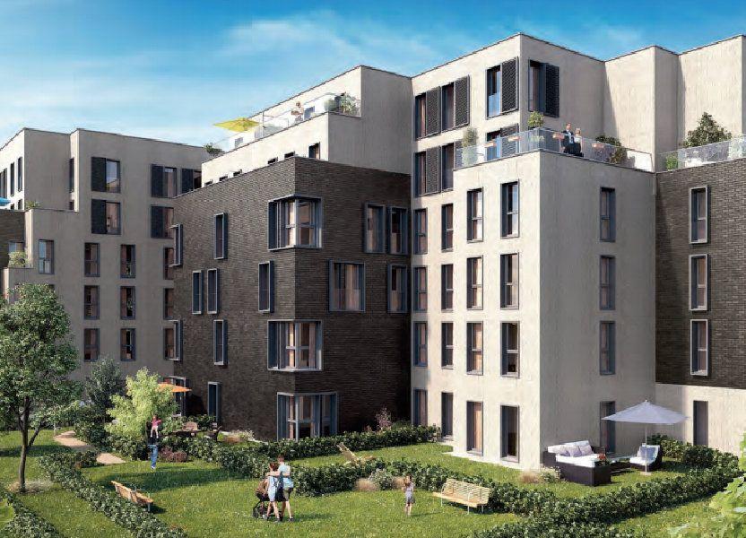 Appartement à vendre 66.55m2 à Lille