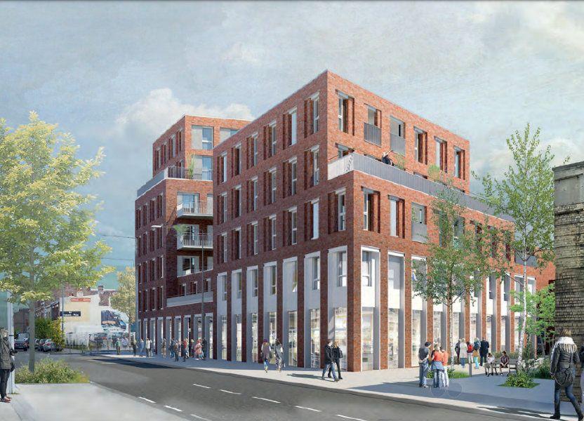 Appartement à vendre 78.25m2 à Lille