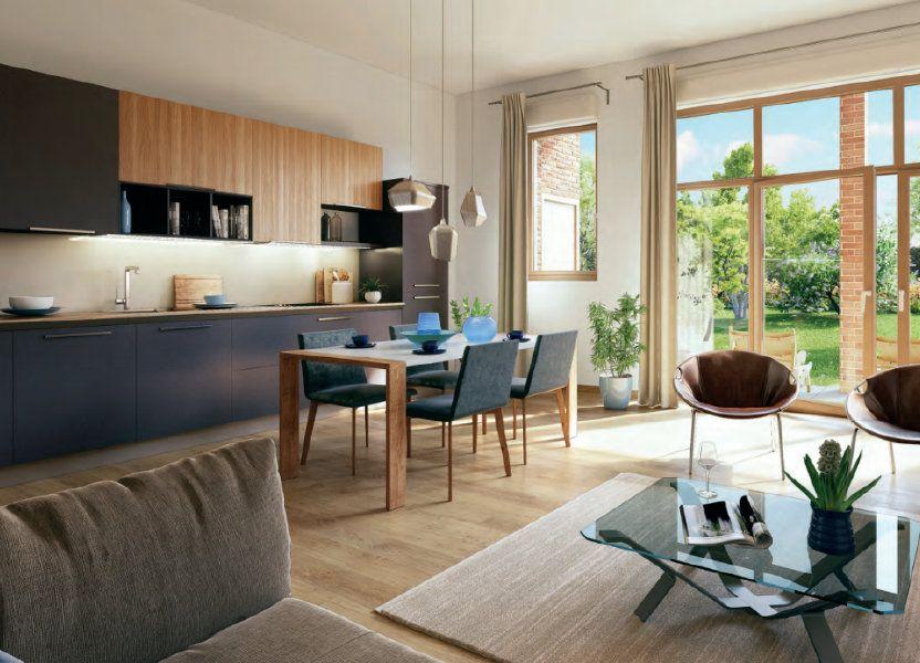 Appartement à vendre 70m2 à Lille