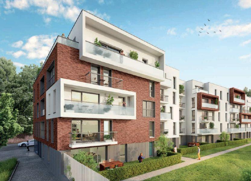 Appartement à vendre 50.8m2 à Loos