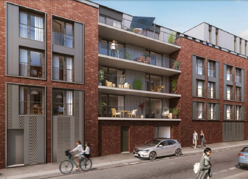 Appartement à vendre 68.65m2 à Roubaix