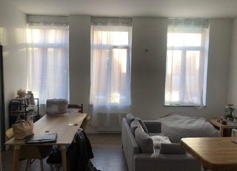 Appartement à louer 36.44m2 à Lille