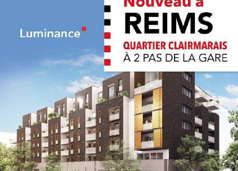 Appartement à louer 64.65m2 à Reims