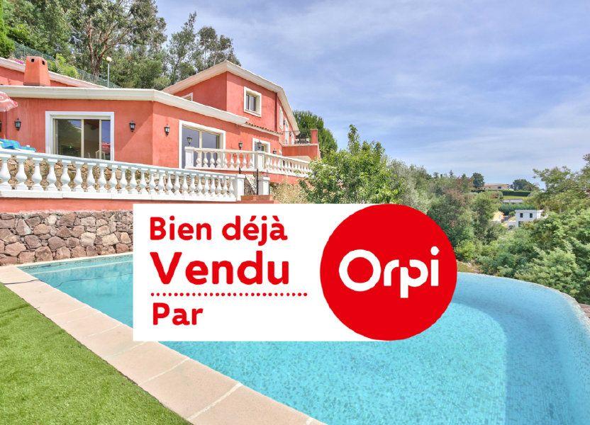 Maison à vendre 240m2 à Mandelieu-la-Napoule